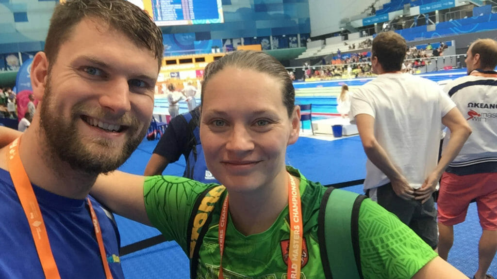 swimway instructors attend FINA tournament