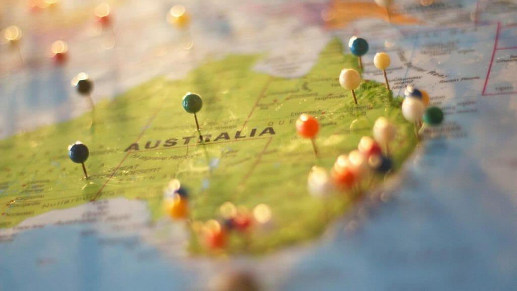 map australia holiday travel