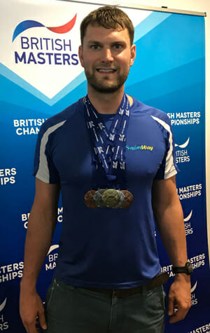 swimway instructor david ashton british masters swimming championships