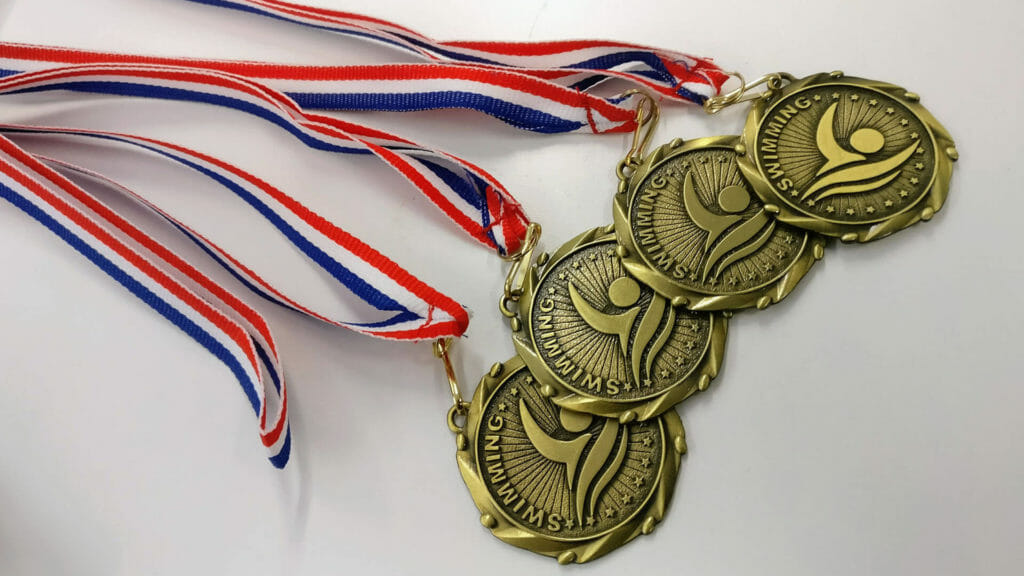swimway summer swimming medals